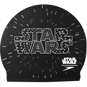 speedo Star Wars Slogan Cap Kinder black/white
